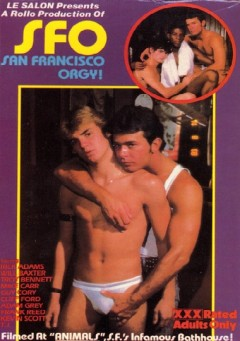 SFO San Francisco Orgy twink kiss wallpaper (1983)