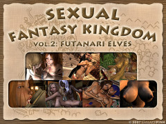 (3D FLASH) Sexual Fantasy Kingdom vol. 2   Futanari Elves (Uncensured   English)