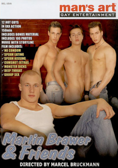 Martin muscle black gay fucking Brawer and Friends