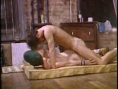 Lavender Lounge Studios Vintage Bareback: Hairy Muscle ! New cute Gay NSFW