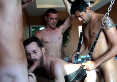 Jimmy, Brett, Angelo Sean (Part 2) (Sep 4, 2014) free porn video