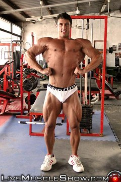 MuscleHunks - Don Donato at 10pm NY Time on 14 August 2014 wmv