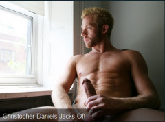 Christopher Daniels Jacks Off free twink spanking video clip - free gay film