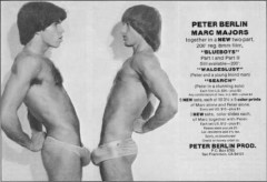 "Peter Berlin (in the movie ""Blueboys / Peter and Marc"")"