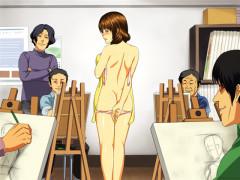 全裸でヌードモデルをさせられた妻 ◆極楽編