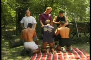 Fiesta of gay group