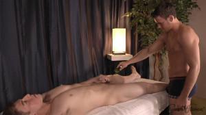 Massaging Kaleb