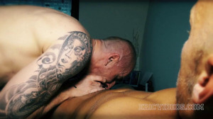 Kriss Aston gets fucked and swallow Deans cum
