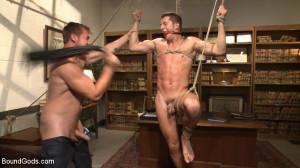 Hot Mormon Jock Fucked in Bondage to Prove His Devotion to the Church