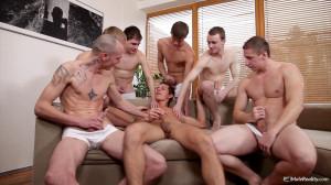 Bukkake Boys Orgy