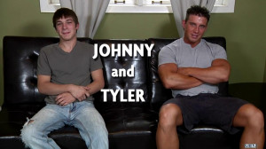 Tyler St.James and Johnny Rapid