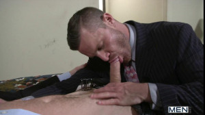 The Cheat Out - TGO - The Gay Office - Landon Conrad & Connor Maguire
