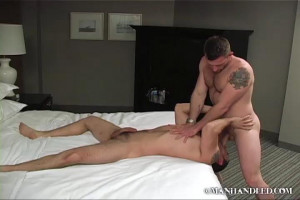 ManHandled - Dominic Sol and Morgan Black in Flip Flop Fuck