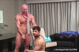 ManHandled - Domination 101 - Dean Monroe and Mitch Vaughn 2