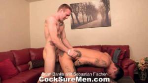 Cocksure Men - Brian Banks and Sebastian Fischer