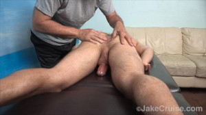 Guy Holiday Massaged