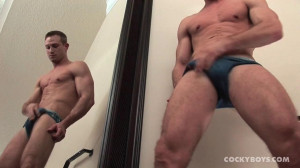 CockyBoys - Max Hammer Jacks Off