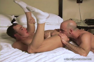 Seducing oldster Adam - Kirk Cummings and Adam Russo