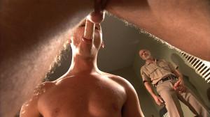 TitanMen - Devin Adams, Troy Daniels and Allen Silver - Inmates - Scene 1