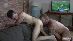 Colbys Crew Football Fuck Canadian Style - Alex and Colby Jansen