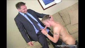Manhandled-Escorting scene 101 Parts I and II