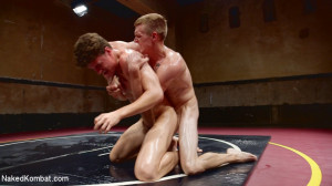Southern Boys with Giant Cocks Wrasslin' in Oil: JJ Knight vs Zane Anders