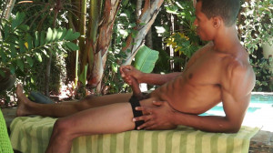 Straight Hunk Brandon Foster Shoots Cum Out Of His Long Black Cock