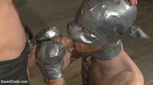 Slave #523 Endures Tape Dom's