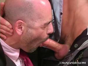 ManHandled - Business ASS-quistion - Steve and Adam