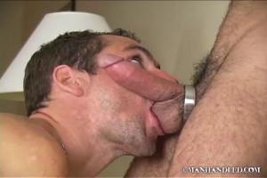 Manhandled - kissing ll - adam and john