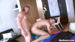 RubHim - Big Boy Massage, Bareback Flip-Flop Fuck