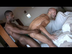 Mr. Marky and JamSteel fuck Osians ass (576p)