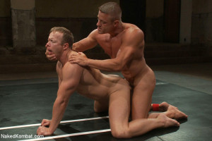 Muscle on Muscle - Tyler Saint takes on Ethan Hudson