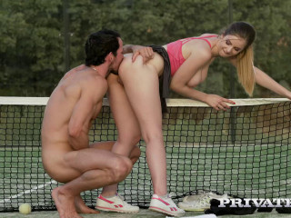 Passes On Tennis For Ass fucking Hook-up
