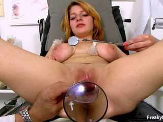 Lola Fauve (18 years dolls gyno exam) HD