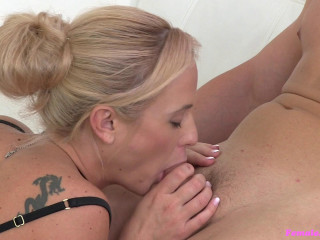 Cristal Caitlin - Bodybuilder Fucks Agent to Ejaculation FullHD 1080p