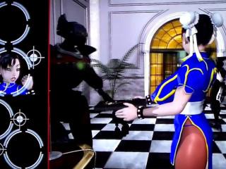 Virgin Fighter Instructing - Exercise 1 3D