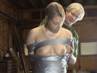 Ariel Marie : Gauze Corded In The Warehouse