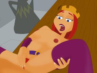 Cartoon Sex-Dave the Barbarian Full HD