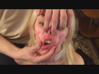Nose Bearing and Facial cumshot Indignity