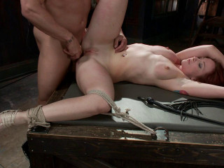 FB - 04-04-2014 - Rookie gets aggressively boned in taut restrain bondage