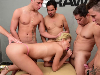 Barbara Perez Group-fucked