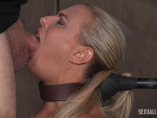 Angel and Dee Tied Back to Back And For Gullet and Anal Use and Have Massive Unloading Orgasms!
