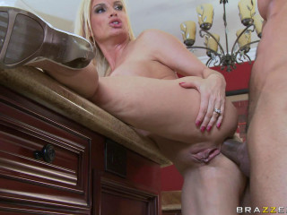 Blondie Milf Offers Him Some Chance
