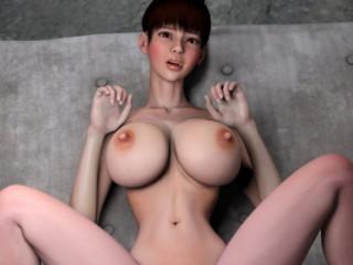 Crimson Nymph vs. Monster - 3 dimensional HD Flick