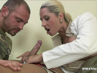 Daria Glower Is A Insatiable Doctor Who Just Can't Help Herself