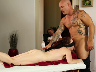 Jessica Ryan, Derrick Pierce - Routine Rubdown FullHD 1080p