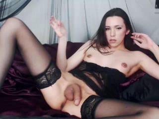 Unexperienced Web cam T-girl Scarlettdoll Solo
