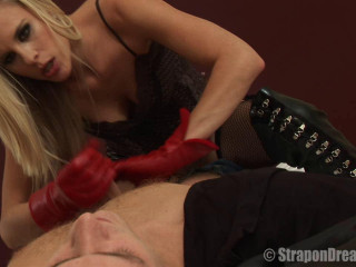 Wire on - Hook-up with a Spectacular Belt dick Lady