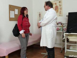 Adela - 49 years female gyno exam
